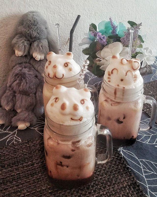 So cute 😍🐷🐶🐱 #coffeetime#coffeeshop#3dart#3dartcoffee#penang#holiday#holidaymood#familytime#familyholiday#foodgram#foodporn#foodie#foodlover  Yummery - best recipes. Follow Us! #foodporn