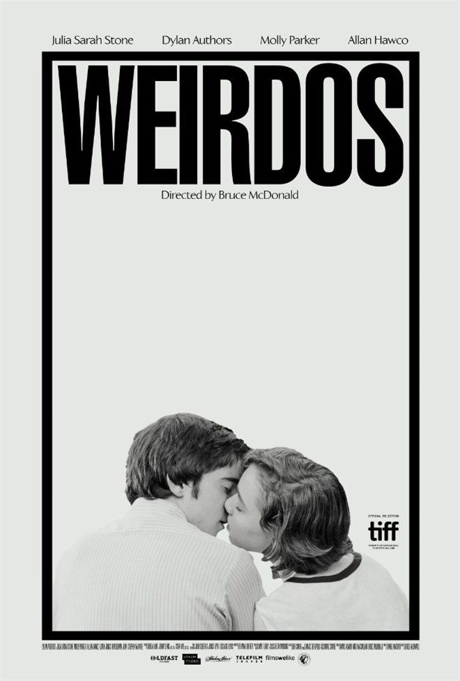 Movie poster for Weirdos designed by Midnight Marauder  http://midnight-marauder.com/