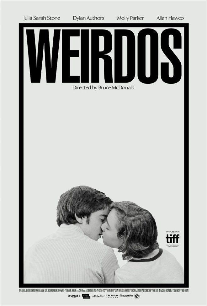Movie poster for Weirdos designed by Midnight Marauder  http://midnight-marauder.com/
