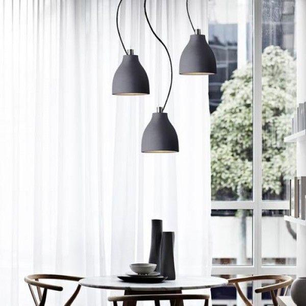 Dany Adjustable Concrete Pendant Ceiling Light