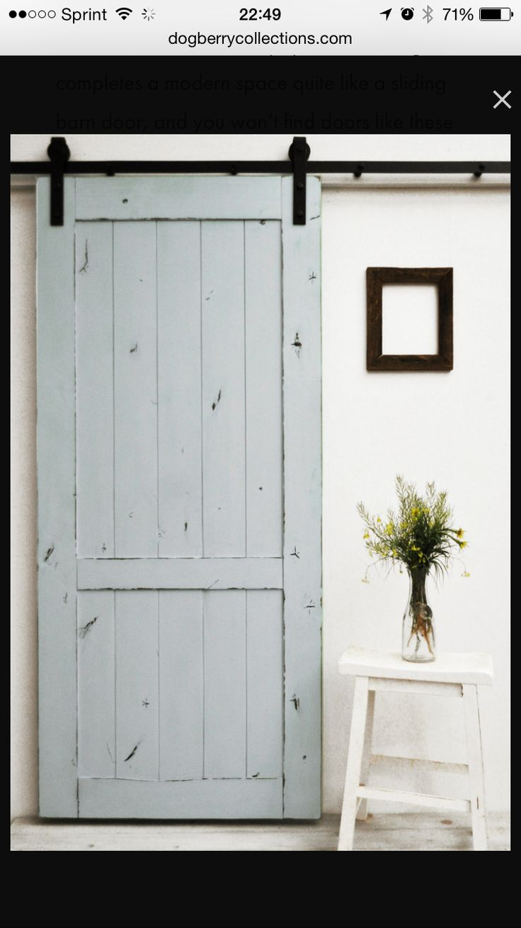 1075 best sliding barn doors images on Pinterest | Closet barn ...