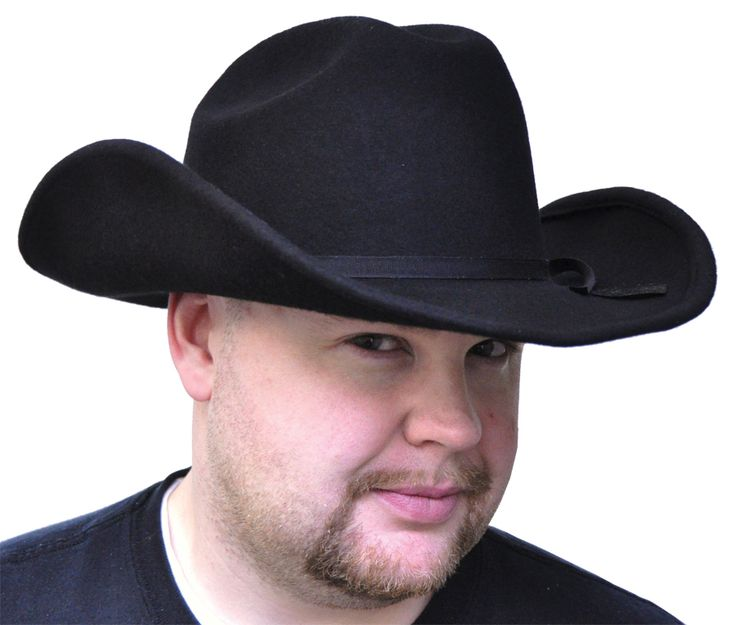 Cool Costume Accessories Black Felt Cowboy Hat just added...