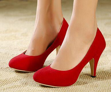 De fundo vermelho sapatos de salto transparente mulher fivela brilho Sexy cravado apontou Toe bombas sandálias em Bombas das mulheres de Sapatos no AliExpress.com | Alibaba Group