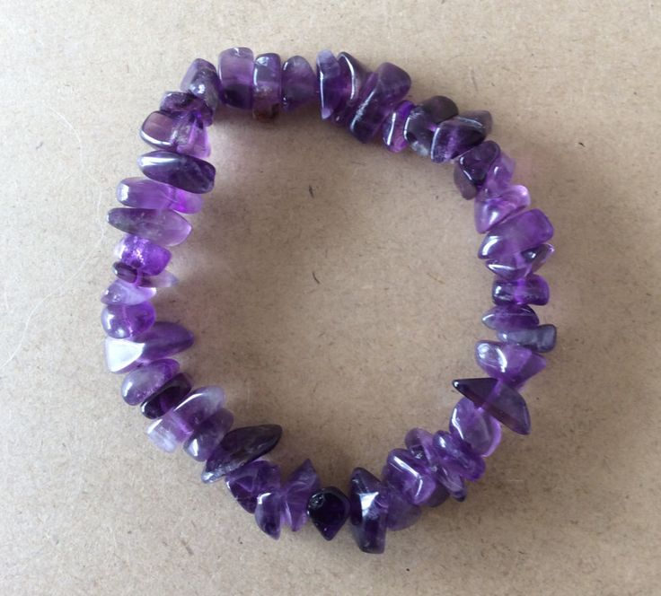 A personal favorite from my Etsy shop https://www.etsy.com/au/listing/294661141/amethyst-chip-bead-bracelet-includes