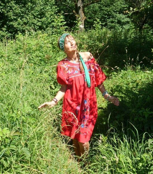 mini jurk l ♥LOVE  BIRDS♥mexicaanse  bloemen van NEWMEXICAN op DaWanda.com