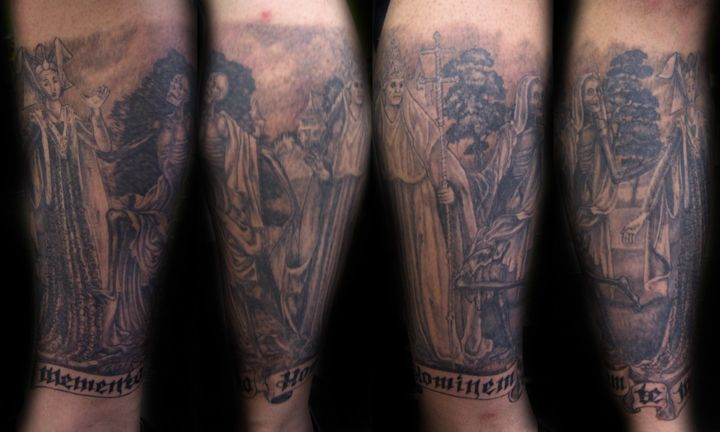 danse macabre sleeve questions tattoo forum at fire dancer tattoo ribs. Black Bedroom Furniture Sets. Home Design Ideas
