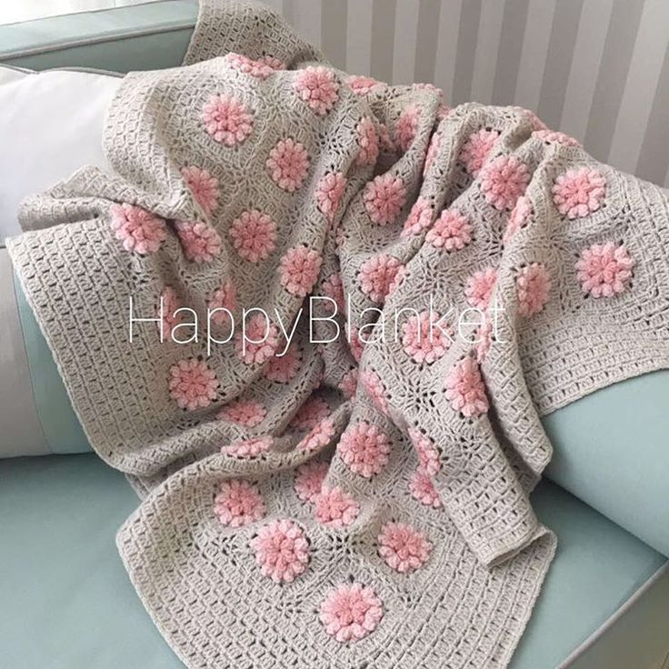 crochet design baby blanket / chrochet throw