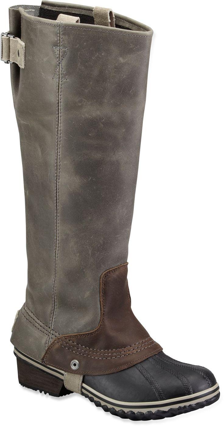 Sorel Slimpack Riding Rain Boots
