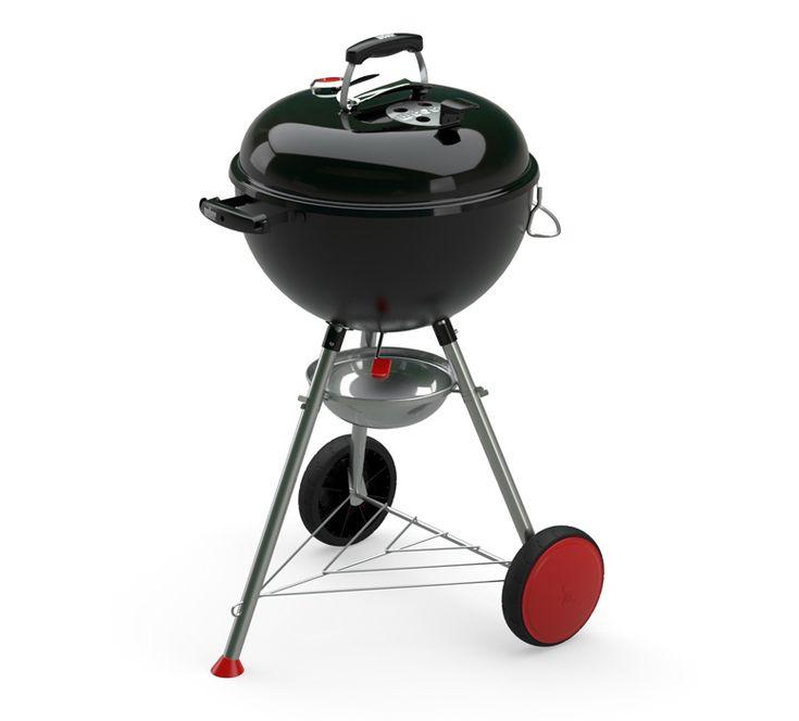 Weber Kettle Plus : le nouveau barbecue à charbon de bois signé Weber sorti en 2017  #weber #raviday #barbecue #charbon #2017 #nouveauté #gbs #accessoires #new #kettle