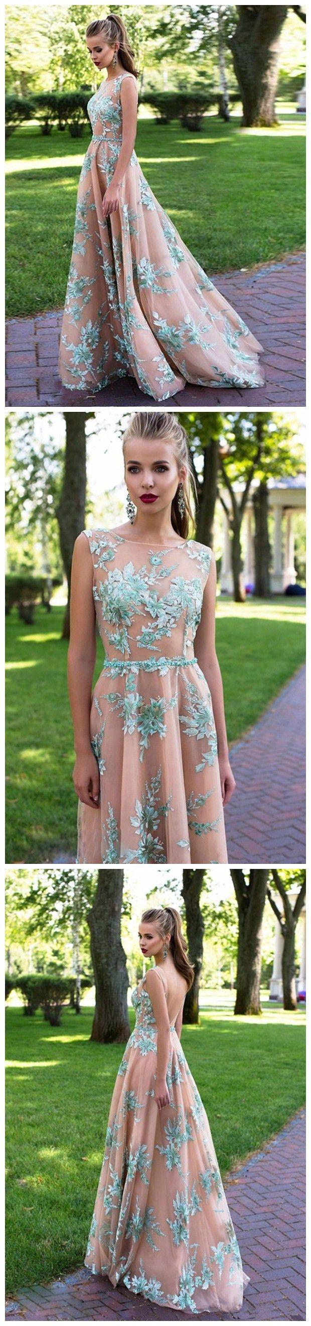 2018 Prom Dress prom dresses long,prom dresses modest,prom dresses boho,prom dresses champagne,prom dresses cheap,prom dresses scoop,beautiful prom dresses,prom dresses 2018,prom dresses elegant,prom dresses a line #amyprom #longpromdress #fashion #love #prom #formal