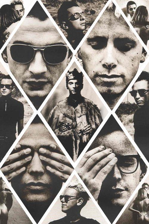 Depeche Mode photos by Anton Corbijn