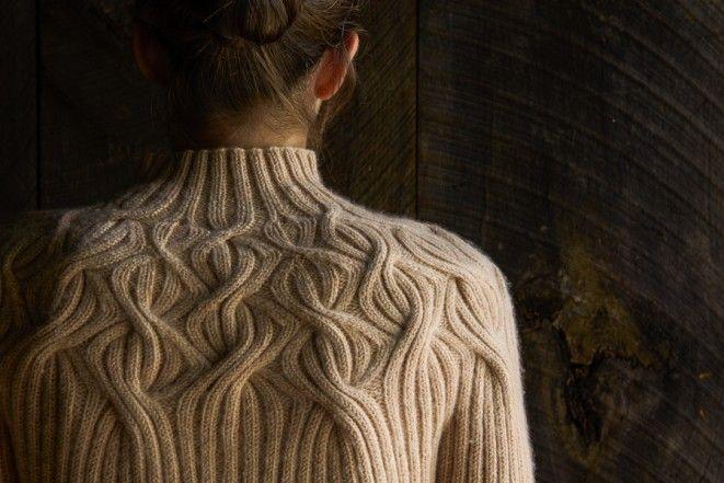 Botanical Yoke Pullover | Purl Soho - Create