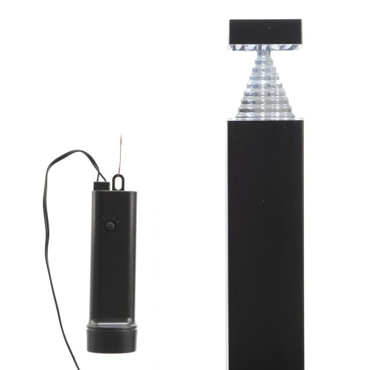 """19"""" Garden Light Stake With Remote & Timer"""