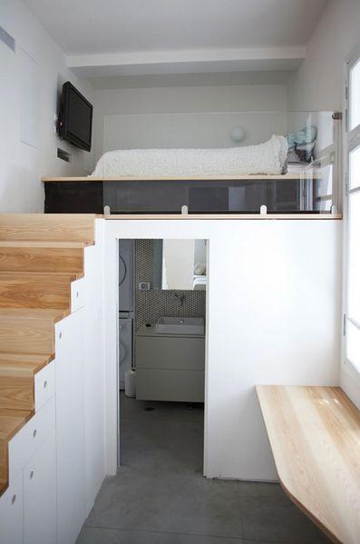 Protection/Séparation : escalier/ coin nuit
