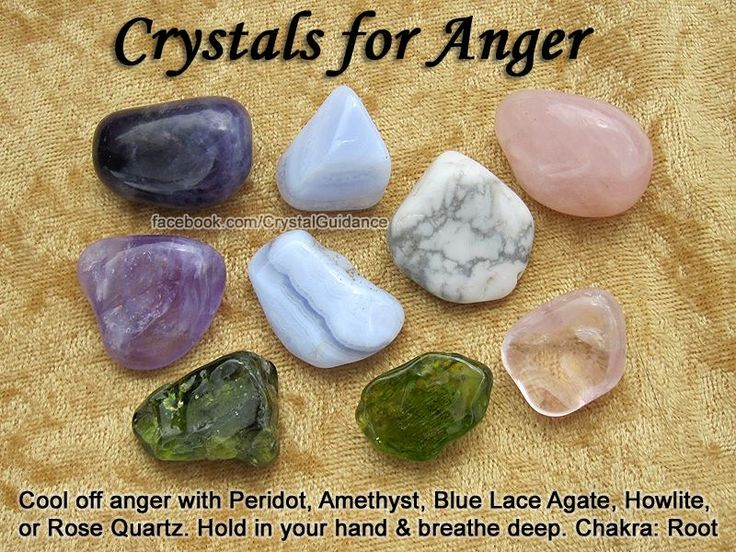 for Anger- Get these crystals here https://www.etsy.com/ca ... - photo#19