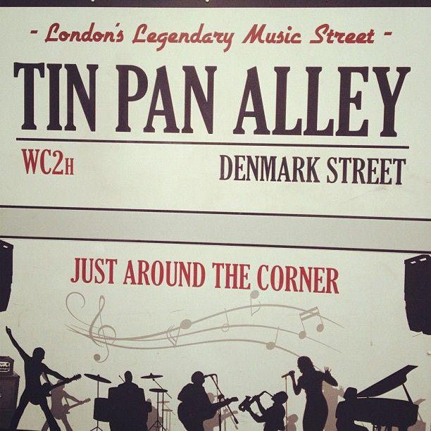 Denmark Street - Photo by pearljamgirl85