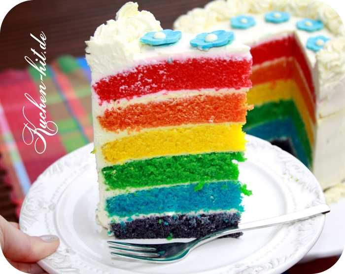 Bunter kuchen