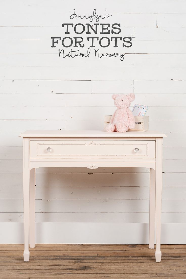 Little Piggy Jennylyn's Natural Nursery You won't oink at this beautiful vintage colour, which transforms any piece into a sweet pink dream. Incredibly soft, this hue is like painting with the first bloom of a blush rose. http://fusionmineralpaint.com/products/tones-for-tots/