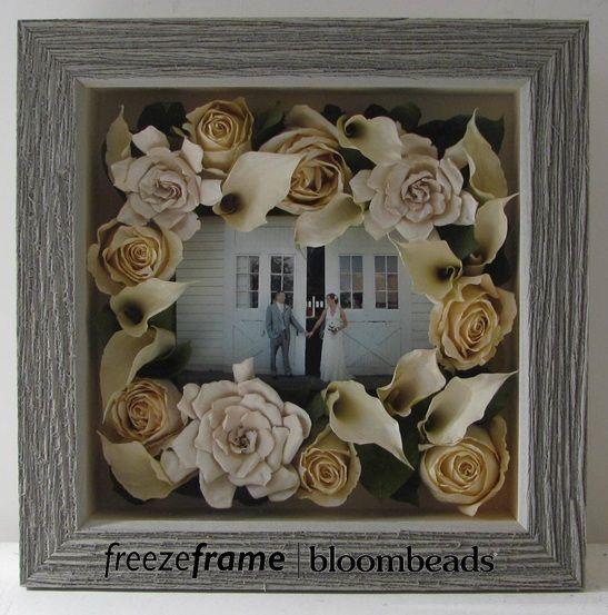 Preserving wedding bouquet http://freezeframewedding.blogspot.com/2013/04/preserve-your-bouquet-in-frame.html