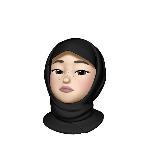 Undecided Hijabi Animoji Hijab Cartoon Emoji Photo Girl Emoji