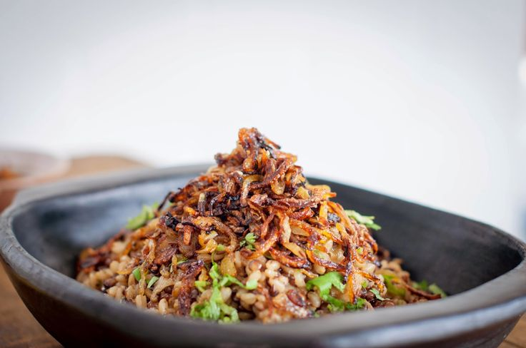 GourmetGirlfriend: Pearl Barley Mujadarra