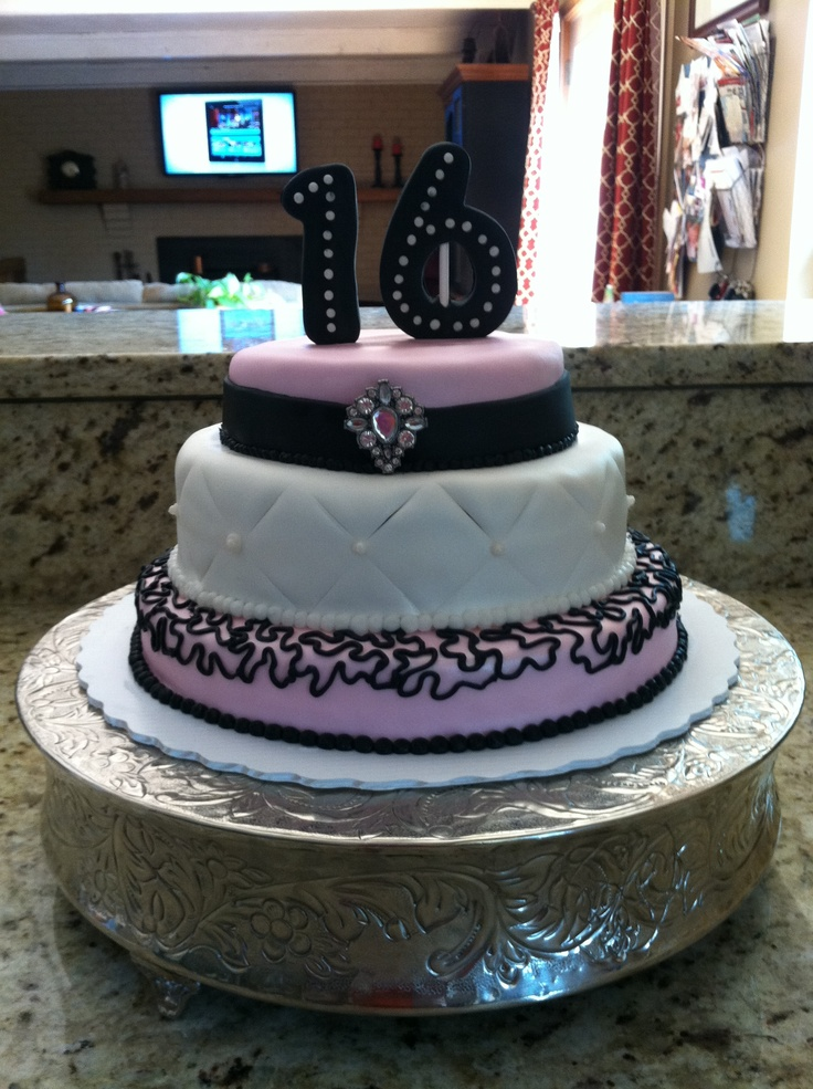 100 Best Amazing Cakes 16th 21st Birthday Images On