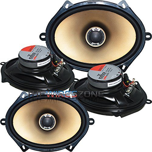 "Polk Audio DB571 360 Watts 5"" x 7"" Coaxial Car/Marine Loudspeaker (2 pairs) 5x7 Learn more by visiting the image link."