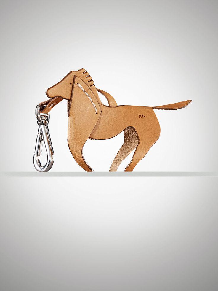 Vachetta Horse Key Ring - Small Leather Goods  Small Leather Goods - RalphLauren.com