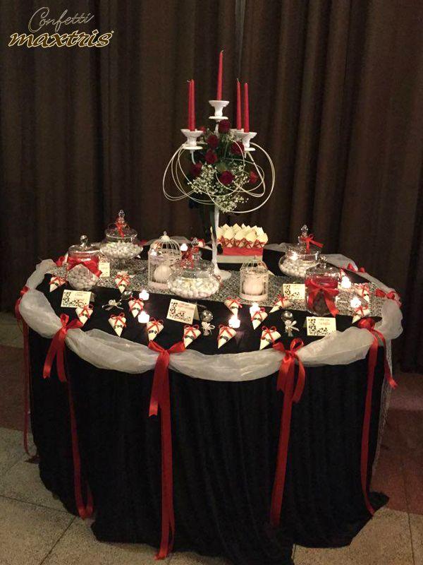 #confetti #maxtris #confettata #candelabro #sweet #table #wedding #inspirations #idea #party
