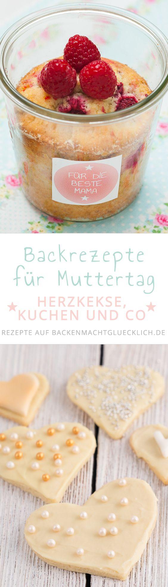 Köstliche Rezepte für Muttertag - von Herzkuchen über Herzkekse bis hin zu Ideen für ein schönes Muttertagsfrühstück. Mit diesen Muttertagsrezepten könnt ihr Mama eine große Freude machen!