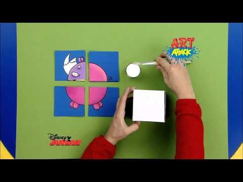 Disney Junior - Art Attack : Puzzle d'Animaux ! - En Français