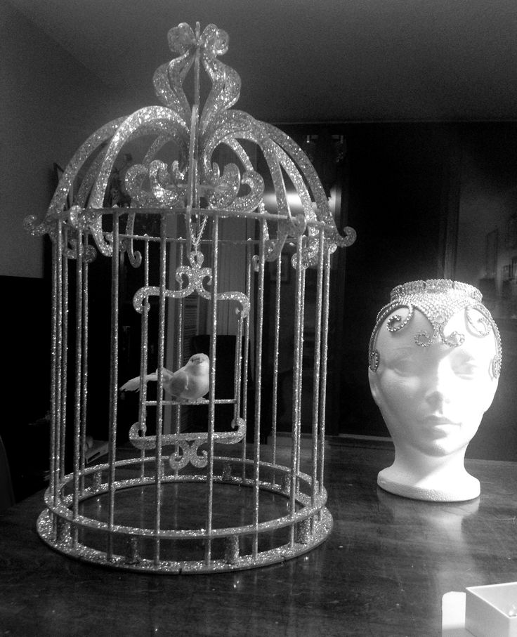 The Making of Mitzy Cream's Birdcage Headdress...  FYI: I designed every detail of this headdress, right down to the assembly.  It is almost  entirely made in a notch and groove design.  The pieces were laser cut for me by a local independent business.