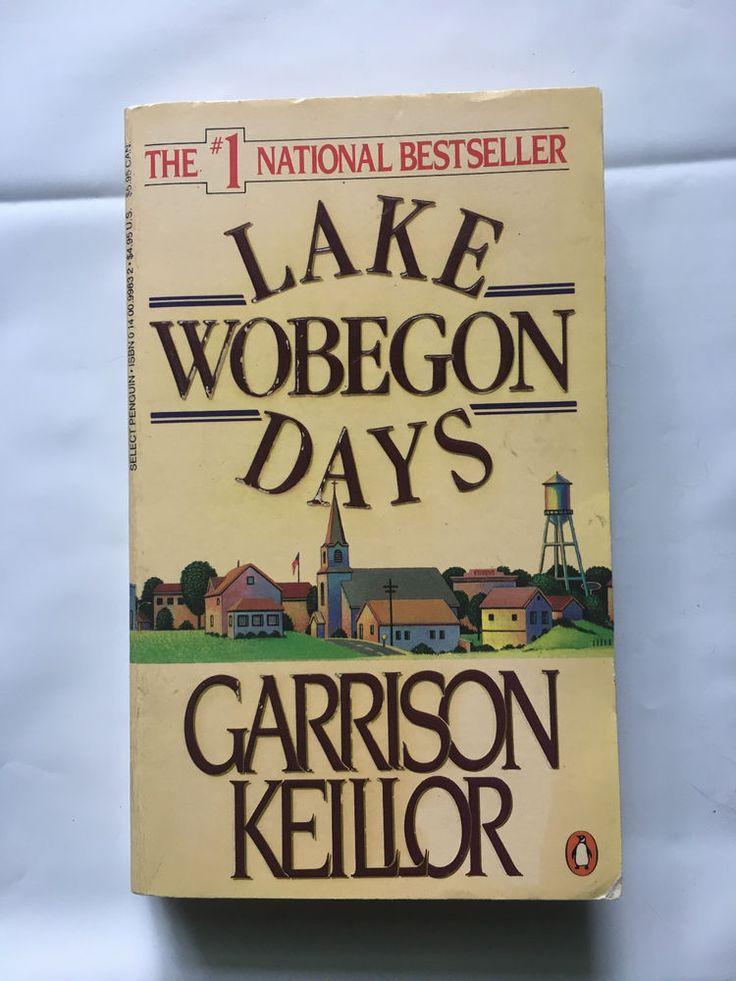 Lake Wobegon Days by Garrison Keillor, paperback