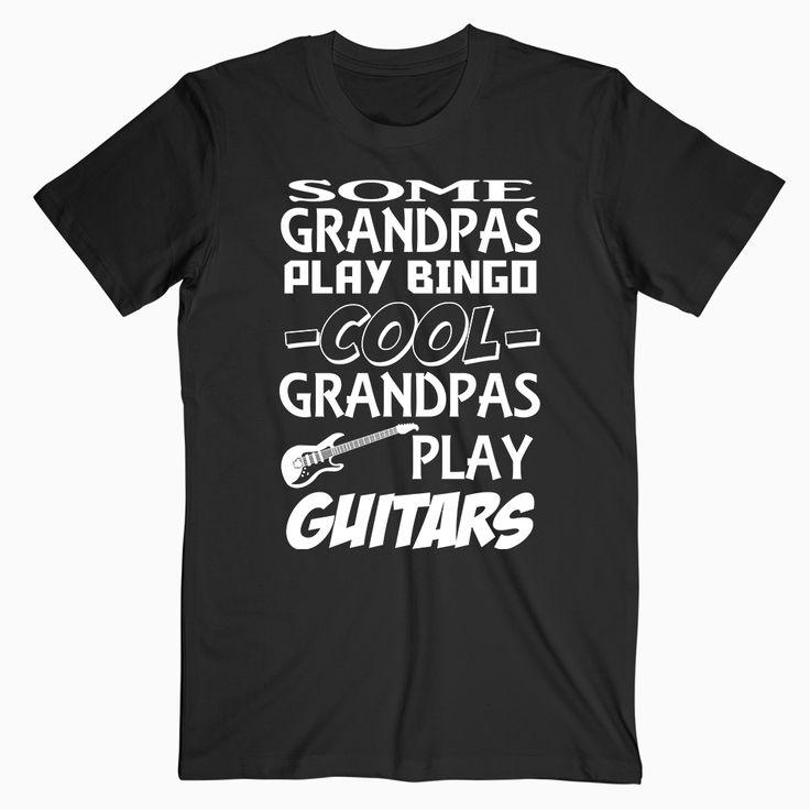 Grandpa Guitars T Shirt