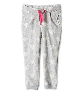 Spodnie dresowe z działu Dziewczynki - kolor: jasnoszary – niskie ceny w sklepie C&A on-line!