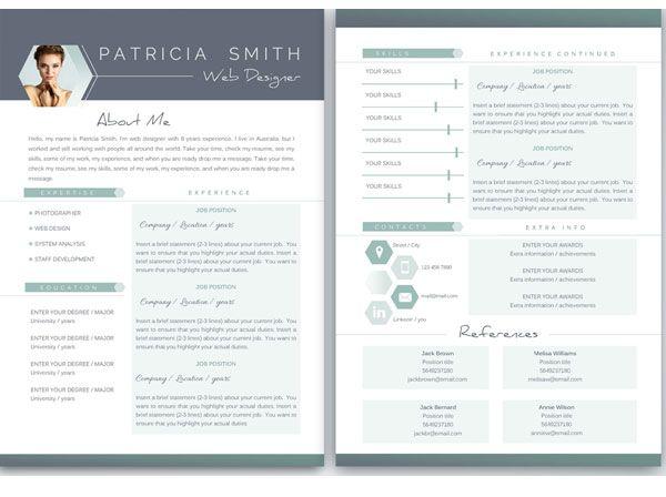 38 best CV Designs images on Pinterest Creative, Creative - portfolio word template