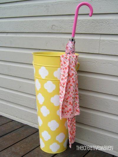 inspiration 6 diy umbrella holder ideas the o 39 jays. Black Bedroom Furniture Sets. Home Design Ideas