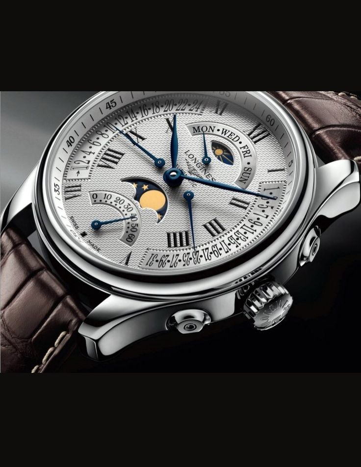 FINN – Longines Retrograde master collection moonphase (ny pris)