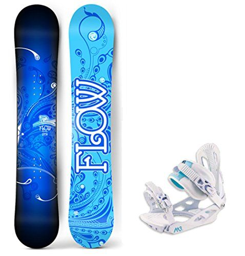 Flow 2017 Star Womens Snowboard Package with Bindings 4 YR WARRANTY  Board Size 144 >>> Check this awesome product by going to the link at the image. (Amazon affiliate link)