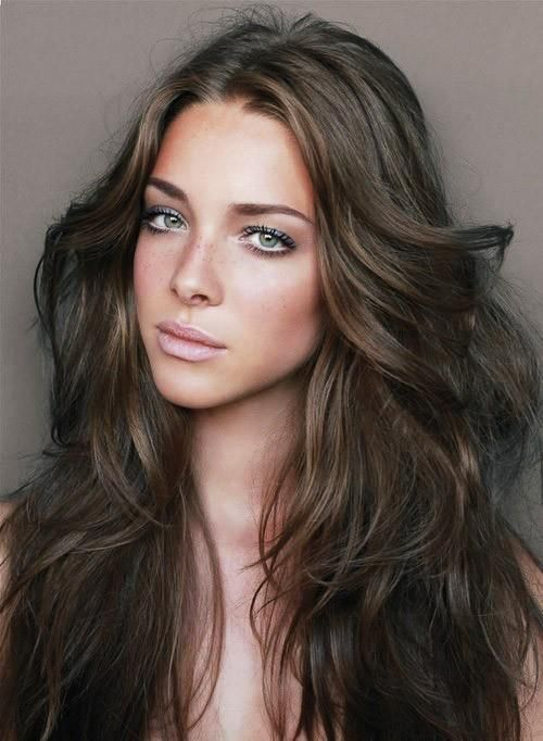brown wavy hair | wavy brown hair - Hairstyles and Beauty Tips