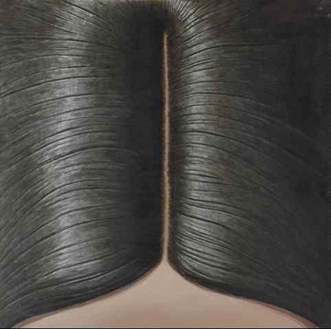 Domenico Gnoli Hair