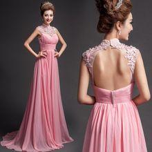 S 2015 новое поступление на складе беременным Большой размер свадебное платье беременная вечернее платье старинные высокий воротник с розовый жемчуг цветок 1051(China (Mainland))