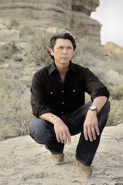 It's a great day at the Red Pony! Lou Diamond Phillips  as Henry Standing Bear