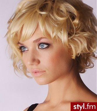 Fryzura - włosy krótkie, cienkie - strona 1 Vitalia