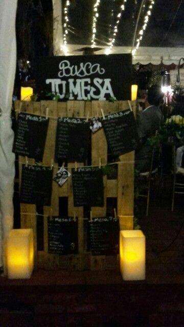 Busca tu mesa matrimonio decoracion rustica