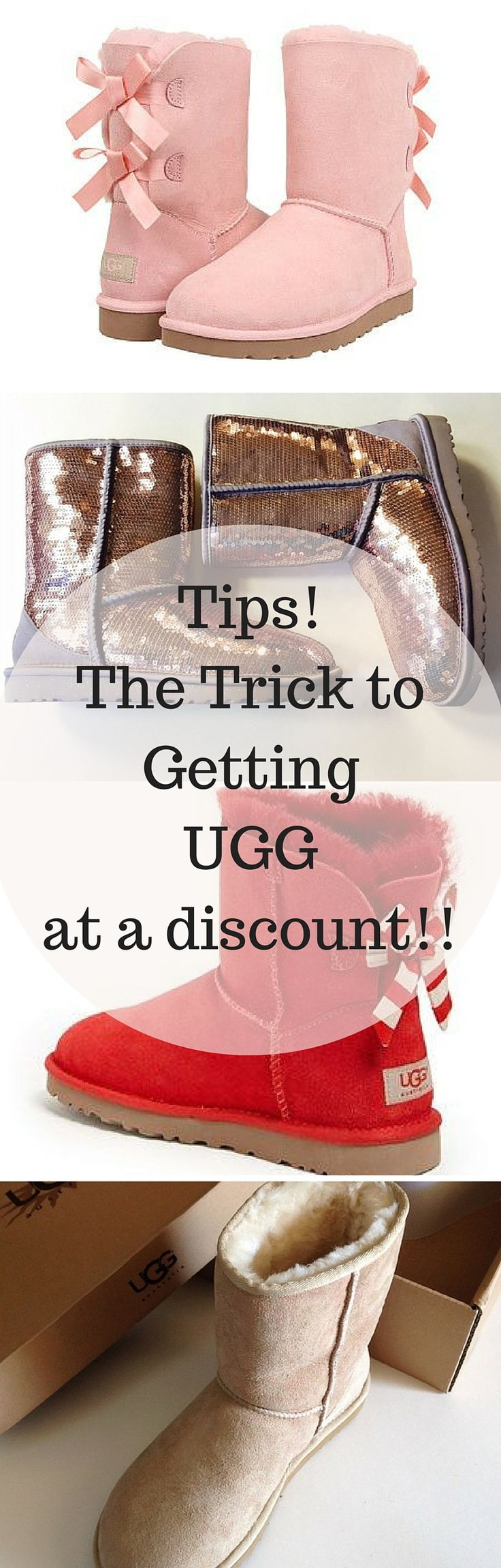 Cheap and Chic! Buy UGG at up to 70% off retail prices now! Click image to install the FREE Poshmark app.