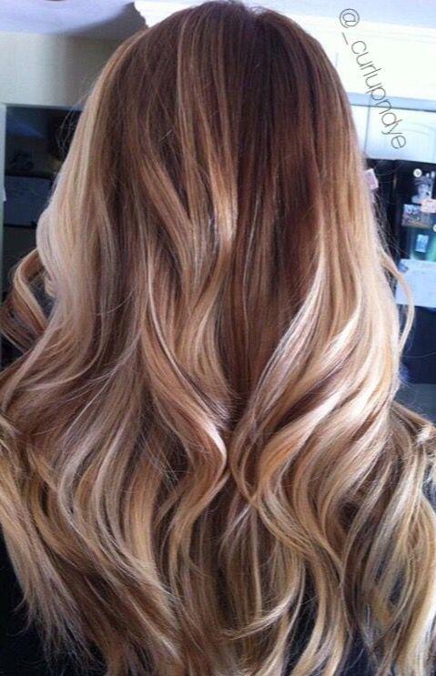 Blonde Hairpainting Hair Blonde Brown Highlights