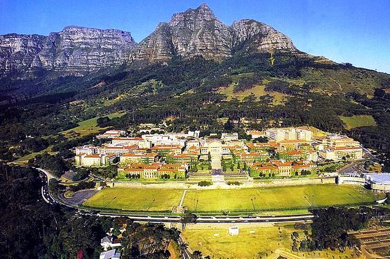 University of Cape Town in its beautiful setting