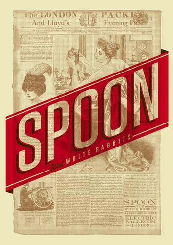 Spoon gig poster