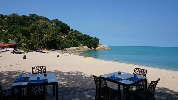 Private beach at The Tongsai Bay